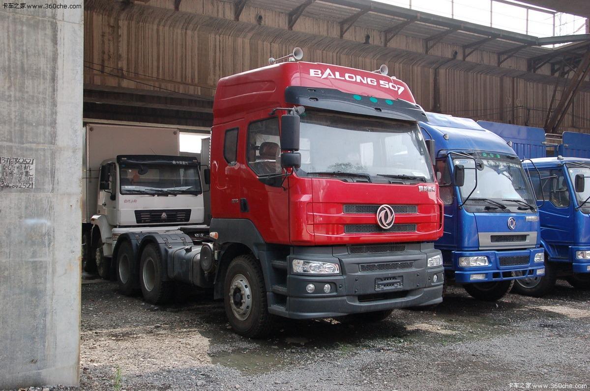 东风柳汽 霸龙507重卡 375马力 6x4 牵引车(康明斯)(lz4252qdc)