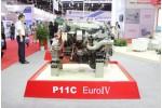 上海日野P11C-UY 欧四 发动机