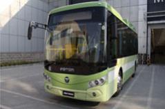 福田欧辉BJ6851EVCA8.5米快充纯电动城市客车