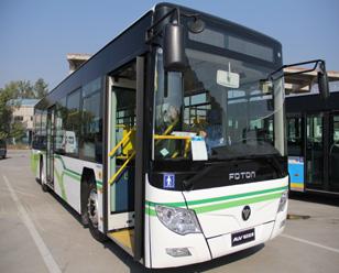 福田欧辉BJ6123PHEVCA-7 12米插电式城市客车