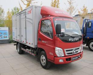福田奥铃 BJ5049XXY-BF型厢式运输车