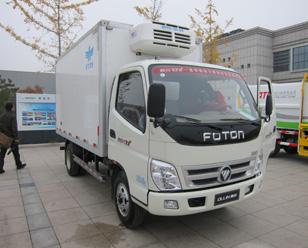 福田奥铃BJ5049XLC-BB 冷藏车