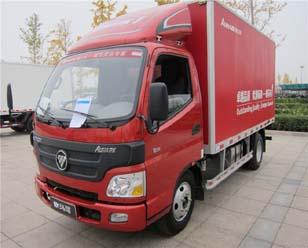 福田欧马可1系 117马力 3.155米双排厢式轻卡