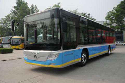 福田BJ6123EVCA-9纯电动客车