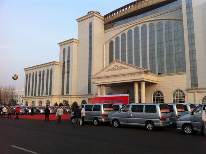 辽宁海狮交付80台金杯阁瑞斯2.7旗舰型