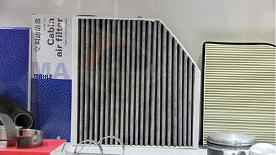 2014法兰克福上海汽配展:马勒空调滤清器展台
