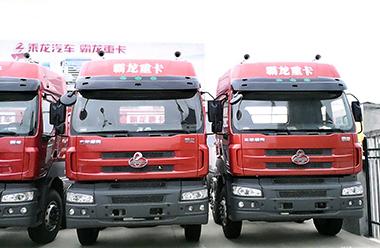 东风柳汽 霸龙重卡 310马力 8X4 仓栅载货车底盘(LZ5312CSQEL)