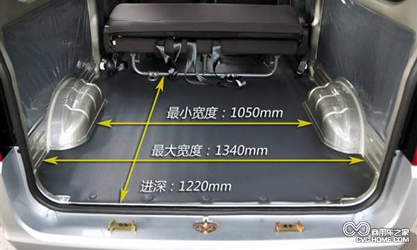上汽通用五菱之光加长版面包车优点解析