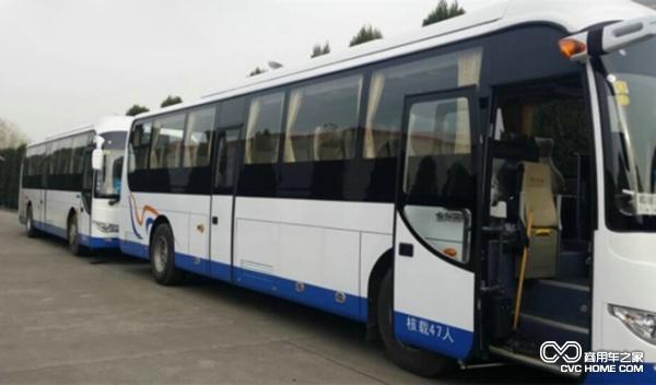 25辆大金龙纯电动客车交付南京金旅