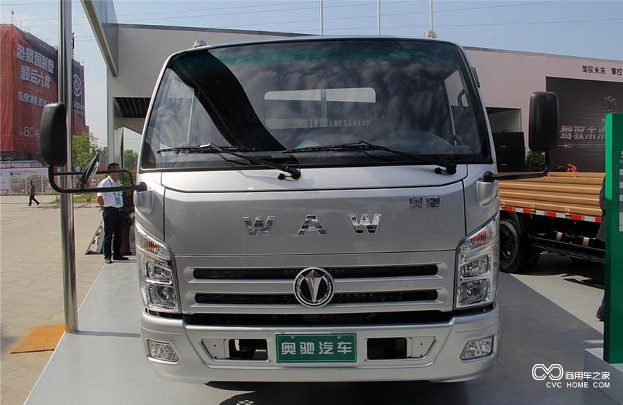 奥驰A3系列 115马力 4.2米CNG单排栏板轻卡