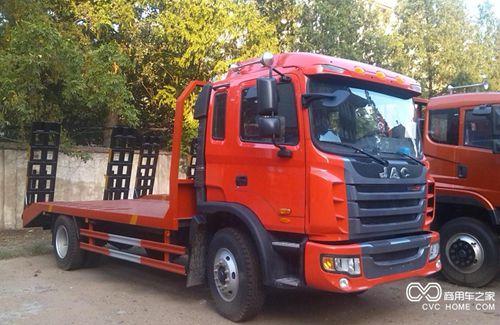 江淮 格尔发 150马力 4X2 平板运输车(DTA5160TPB)