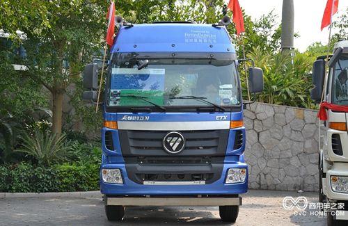 福田 欧曼ETX 5系重卡 336马力 4X2 LNG牵引车(BJ4182SLFKA-XA)