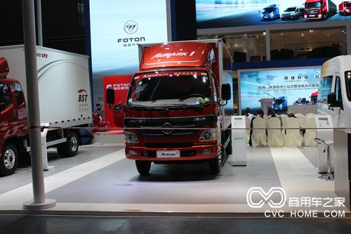 福田欧马可1系 150马力 4.165米单排厢式轻卡