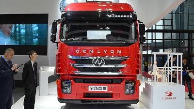 红岩 杰狮S100重卡 480马力 6X4 牵引车(CQ4255HXG334