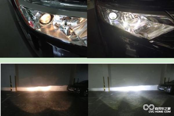车灯改装常识 近光灯改装选氙气灯还是LED灯高清图片