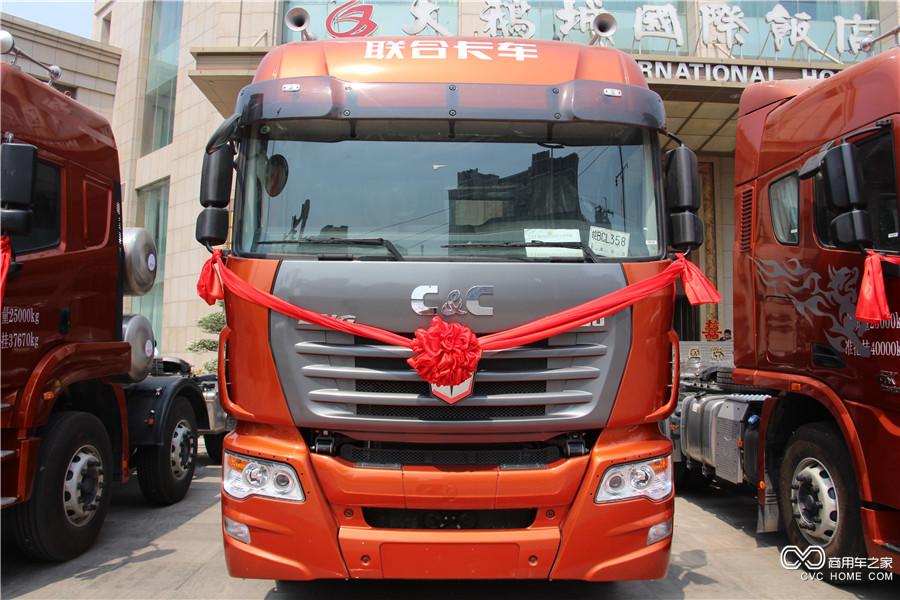 联合卡车U400LNG牵引车