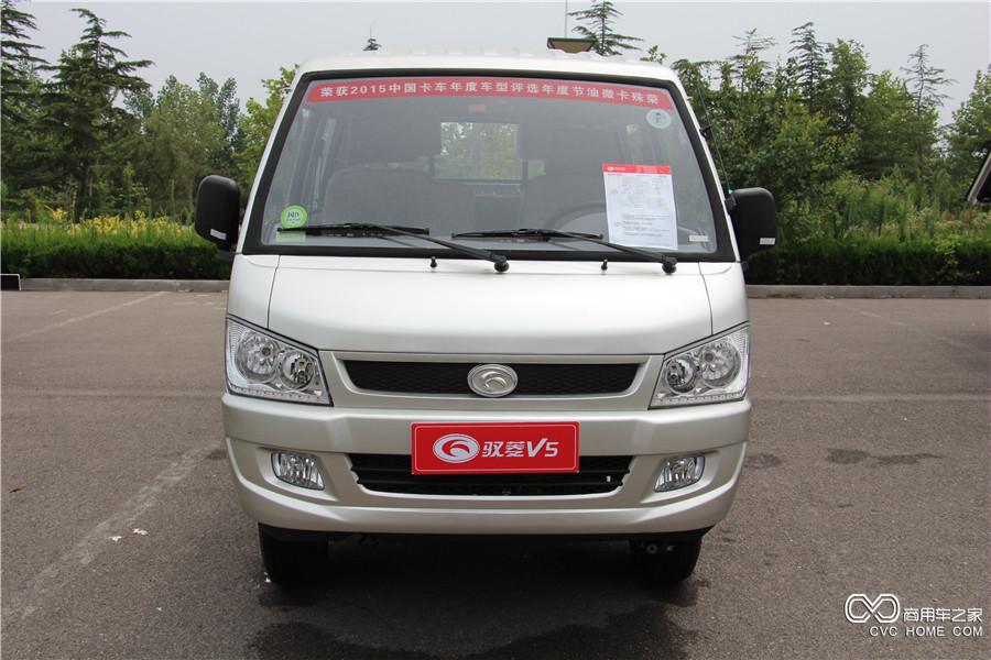 福田汽车 时代驭菱V5 轴距3100mm双排平板车 (BJ1036V4AA4-Y3)