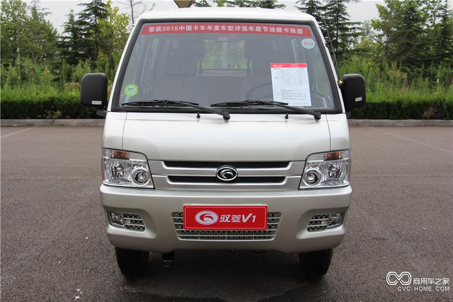 福田汽车 驭菱V1 轴距2566mm双排平板车 (BJ1030V5AA4-X3)