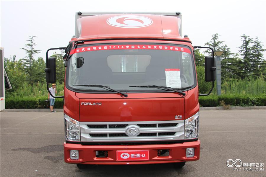 福田汽车 时代康瑞H3 轴距3360mm单排厢车 (BJ5043XXY-B2)
