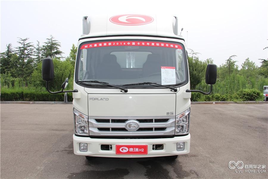 福田汽车 时代康瑞H2 轴距3360mm单排厢车 (BJ5043XXY-A1)