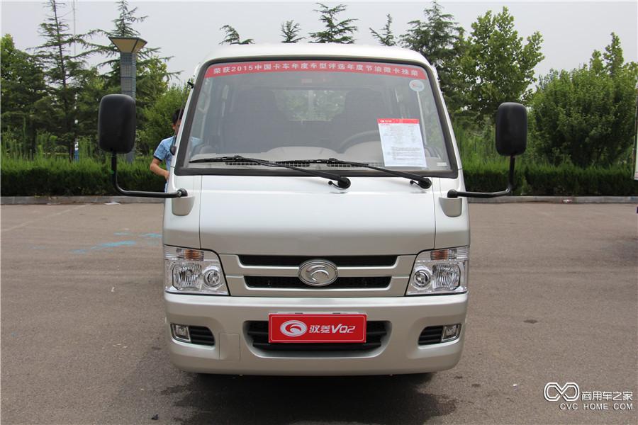 福田汽车 时代驭菱VQ2 轴距2600mm双排平板车 (BJ1032V3AV4-A2)