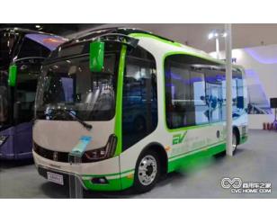 亚星JS6680GHBEV迷你纯电动公交