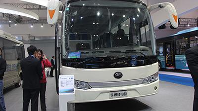 2015节能与新能源成果展 宇通ZK6115BEV1纯电动客车