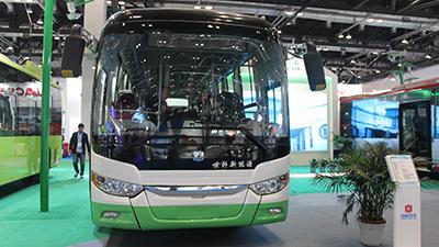 2015节能与新能源成果展 中通V10K纯电动客车
