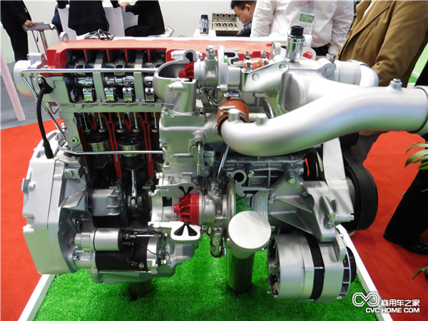 M16系列发动机-内燃机展北京开幕 繁荣程度堪比清明上河图