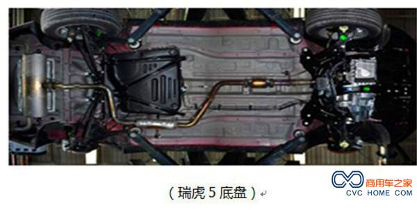 瑞虎5 汽车发动机舱结构图解