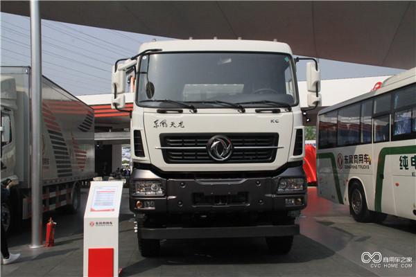 东风天龙KC 6X4工程车-东风商用车全系商品和动力总成亮相北京车展