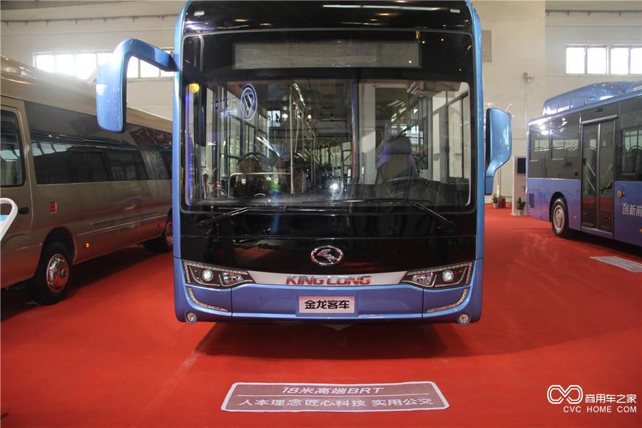 2016北京道路运输展 金龙18米高端BRT