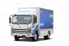 吉利RE500增程式厢式运输车
