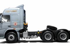 大运 N8V质蕙2.0版 (新北方版)潍柴430马力 煤炭运输(国六) 6×4燃气牵引车(CGC4250N6ECGE)